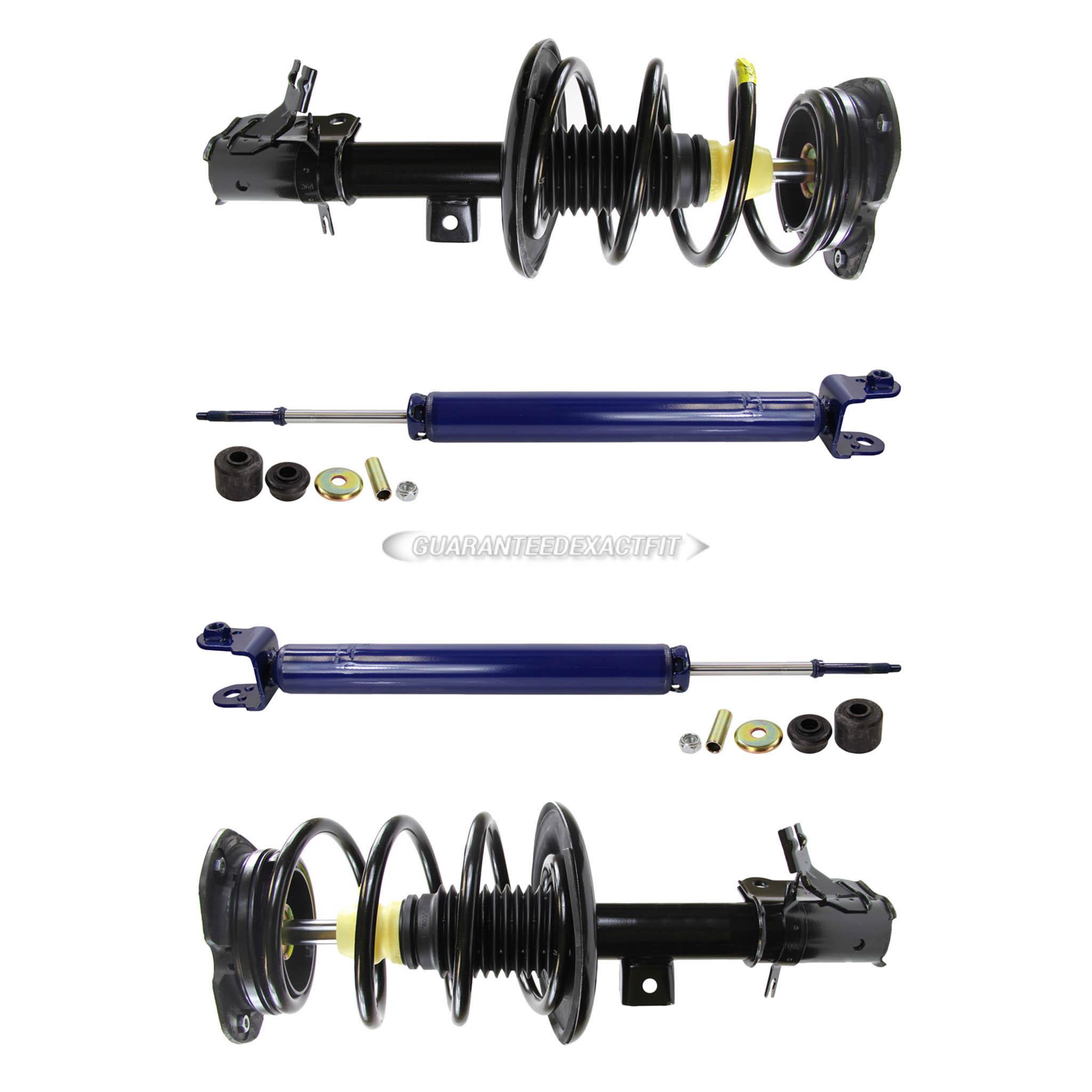 Monroe Shocks /& Struts RoadMatic 182393 Suspension Strut and Coil Spring Assembly