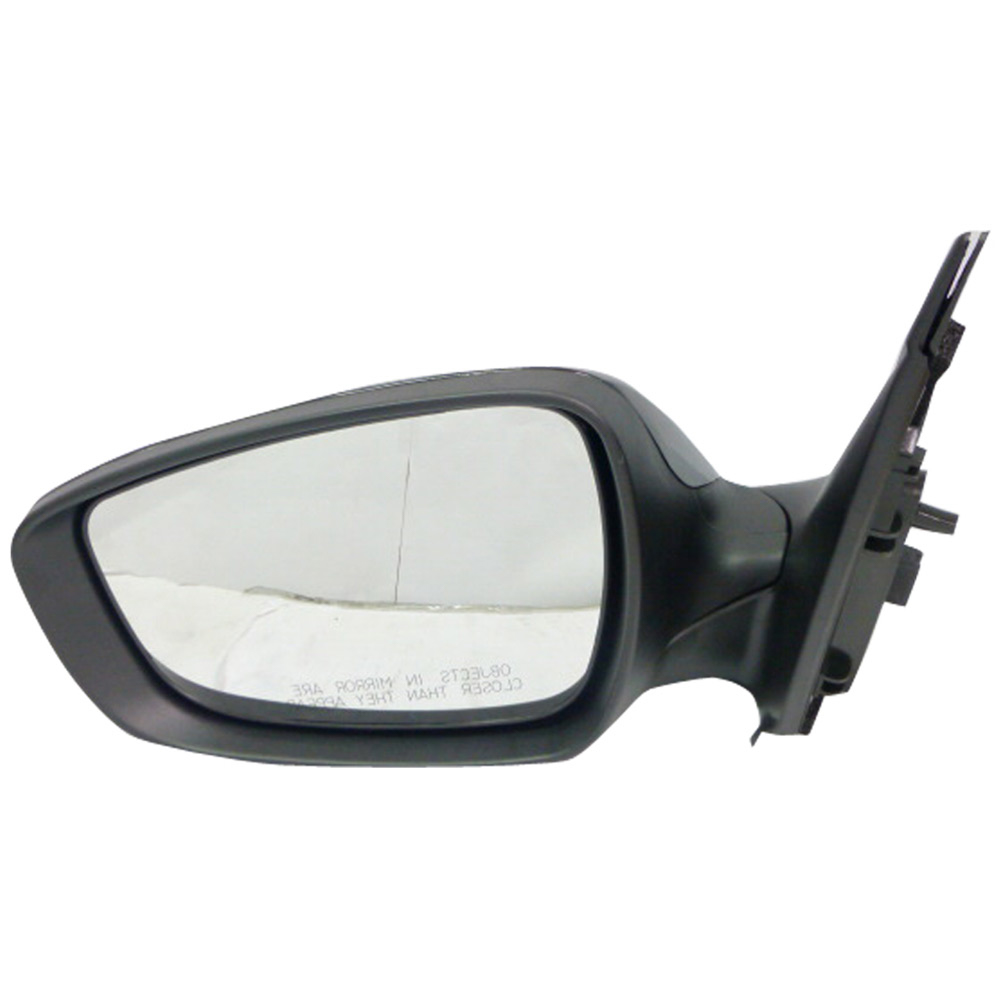 BuyAutoParts 14-12075MI Side View Mirror