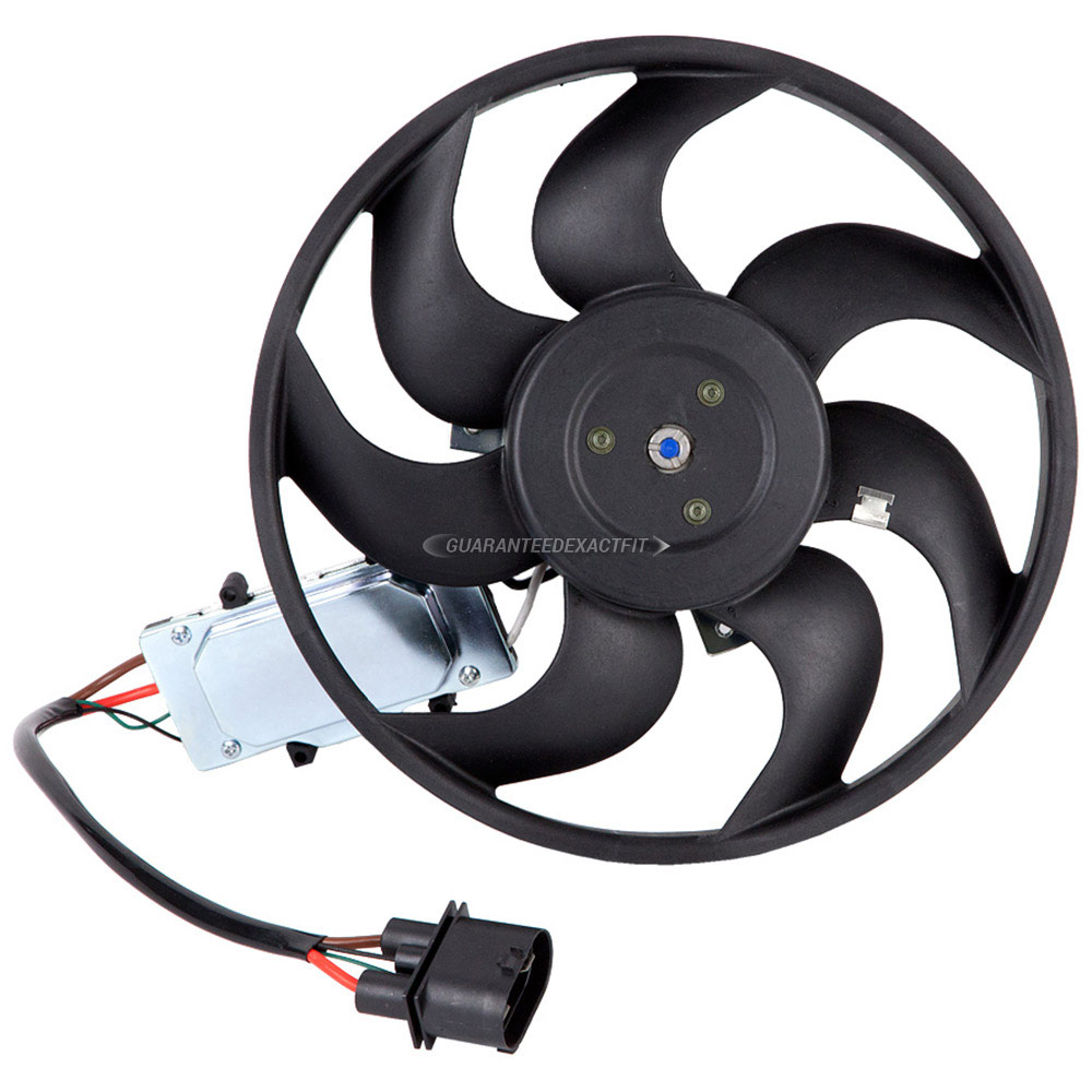 Volkswagen Touareg Cooling Fan Assembly