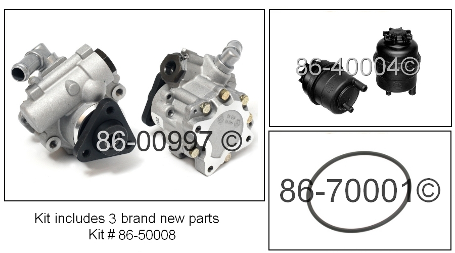 BMW X5 Power Steering Pump Kit