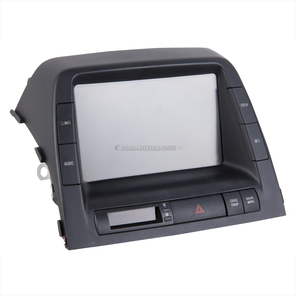 2007 toyota prius center module screen in dash display for 86110