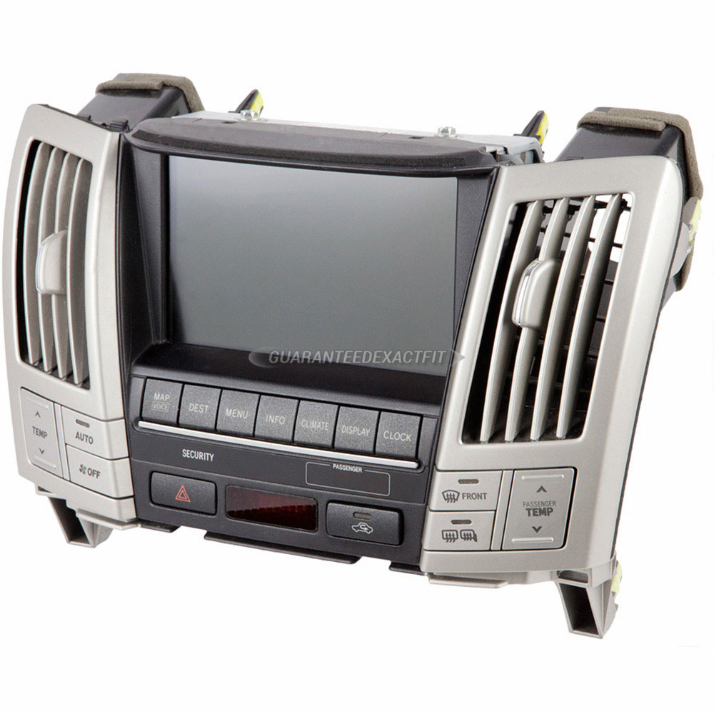 2005 lexus rx330 center module screen in dash navigation. Black Bedroom Furniture Sets. Home Design Ideas