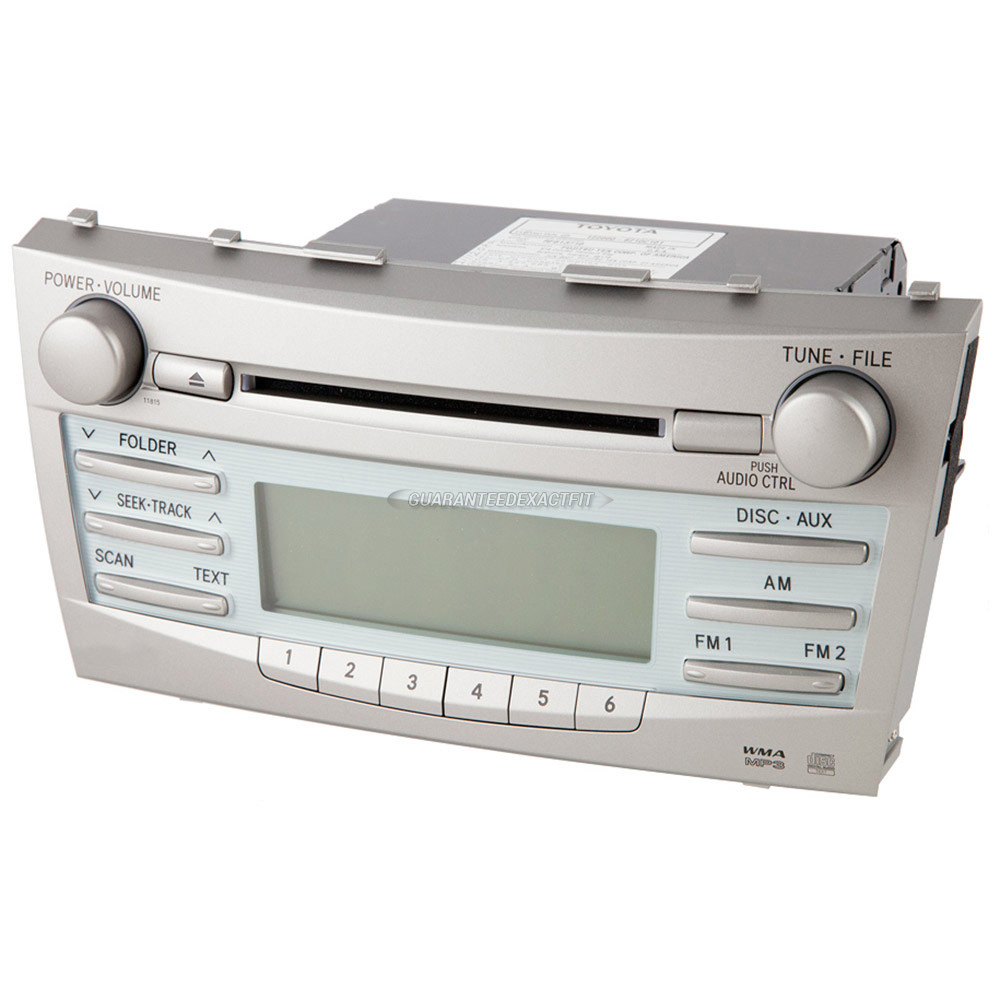 Toyota Camry Radio Or CD Player Parts, View Online Part