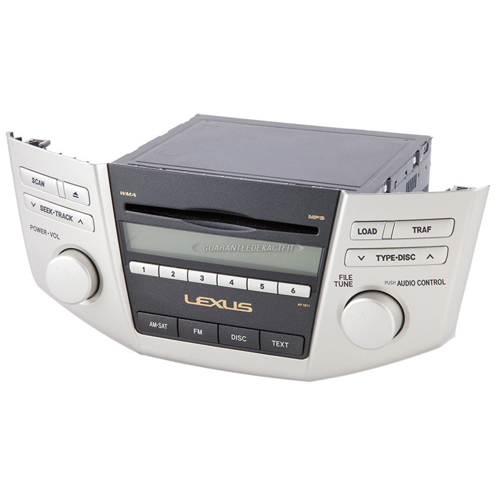 lexus rx400h radio or cd player - oem & aftermarket replacement parts