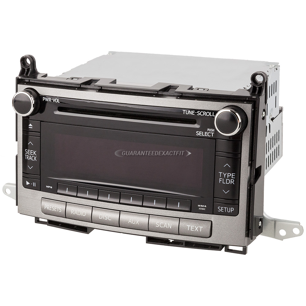 Toyota New Parts Online: Toyota Radio Or CD Player Parts, View Online Part Sale