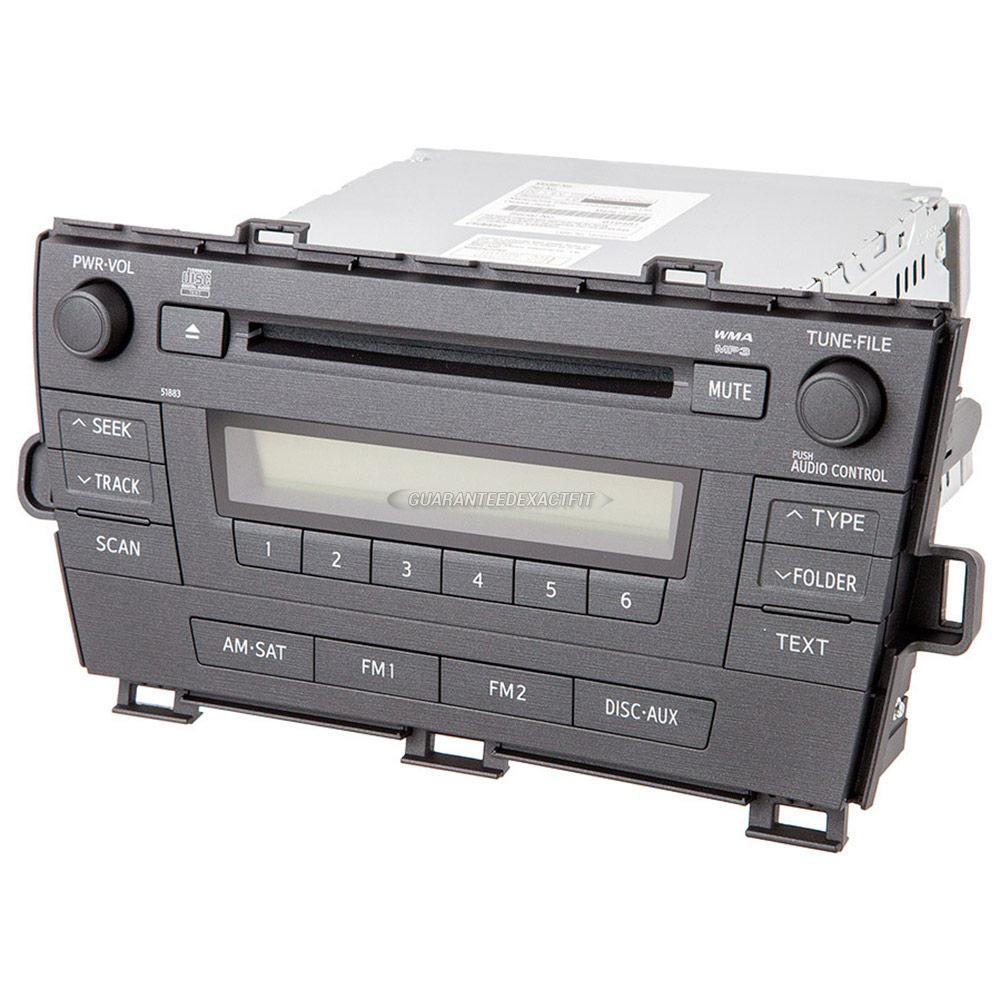 2010 prius cd player