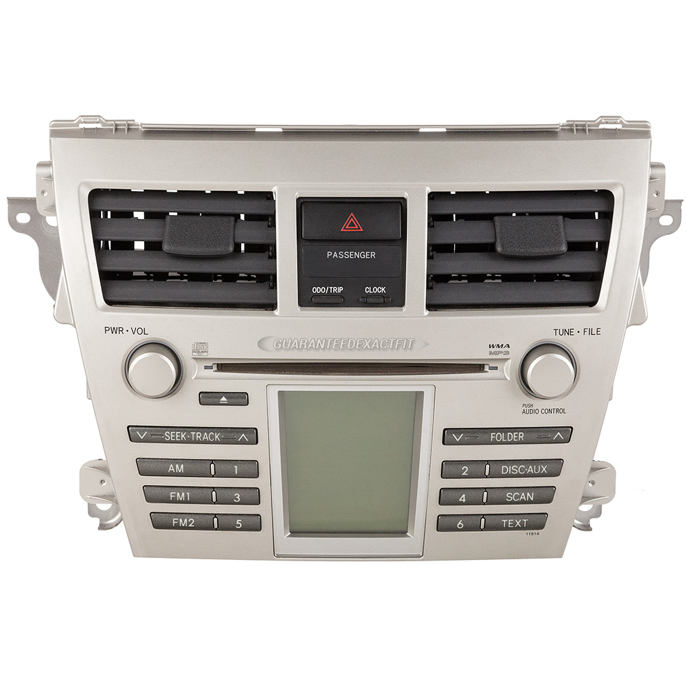 2007 toyota yaris radio or cd player radio am fm mp3. Black Bedroom Furniture Sets. Home Design Ideas
