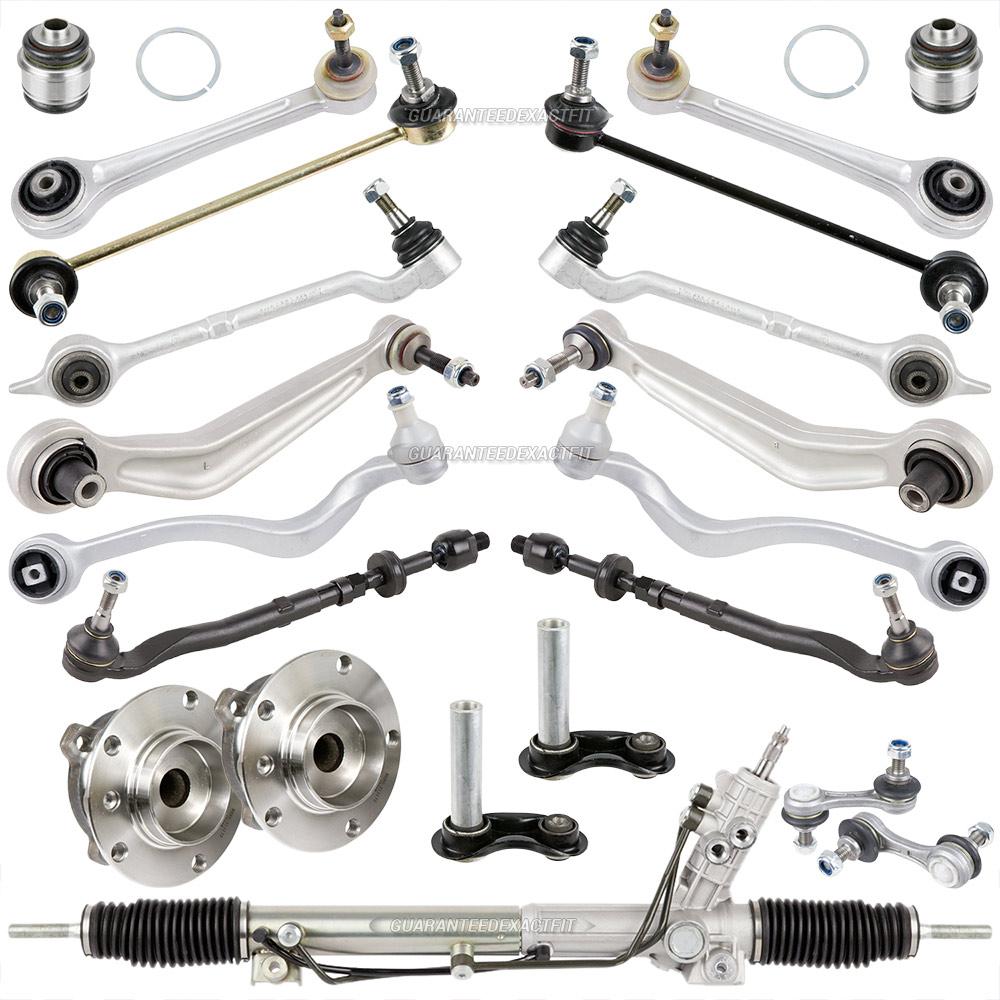 Suspension & Steering Repair Kit W/ Rack & Pinion Hubs