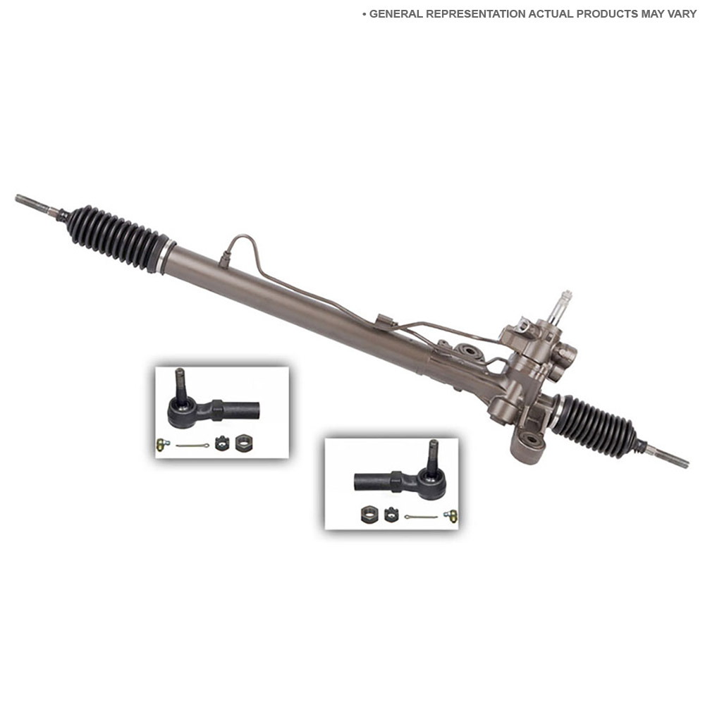Power Steering Rack and Outer Tie Rod Kit 89-20006 R