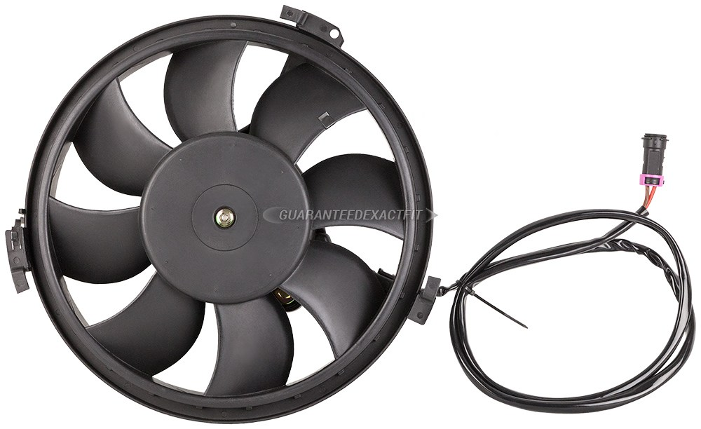 Audi  Cooling Fan Assembly
