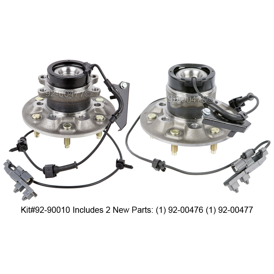 GMC  Wheel Hub Assembly Kit