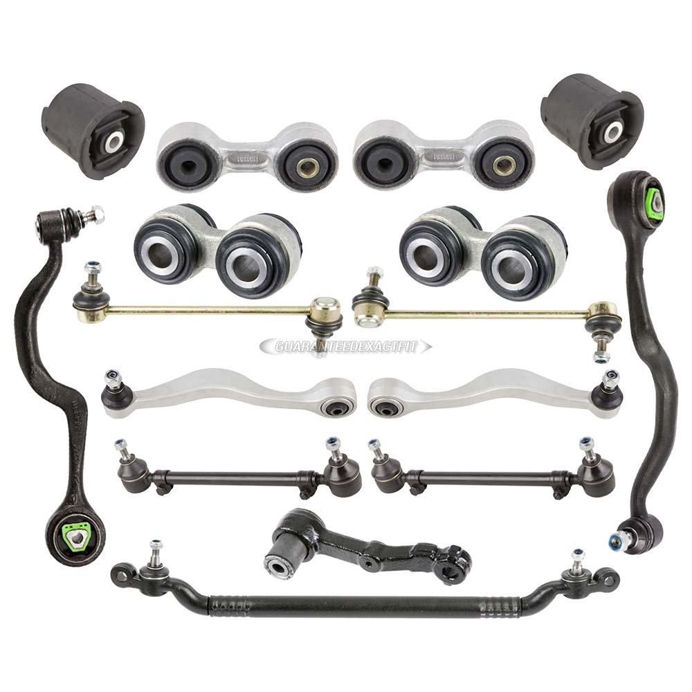 Bmw Front And Part Diagram: Brand New 16 Piece Front & Rear Suspension Control Arm