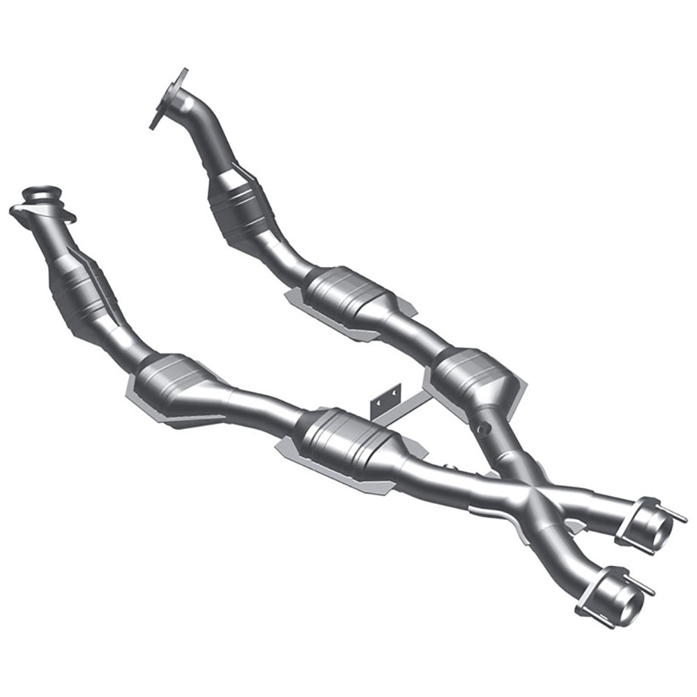 1998 ford mustang catalytic converter non