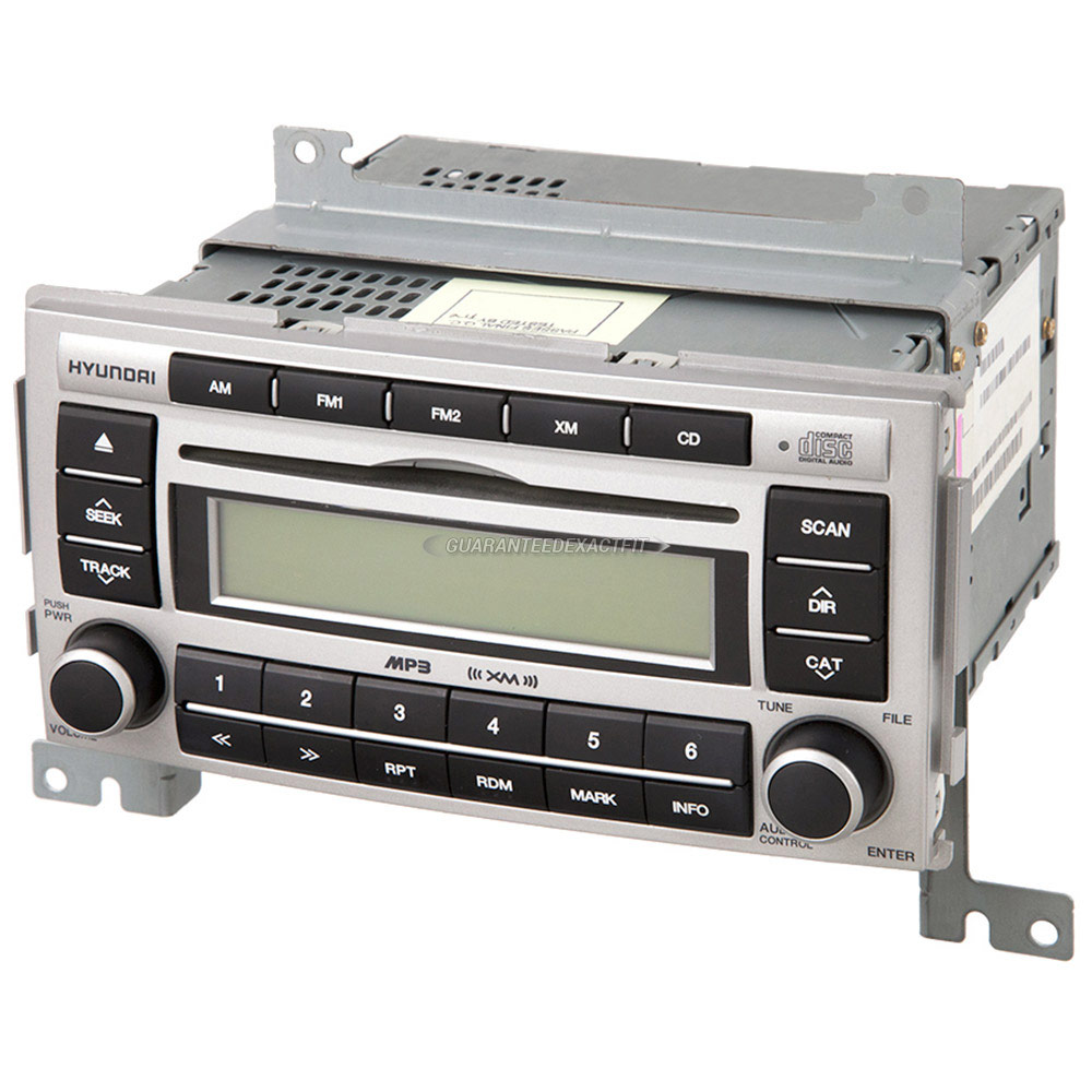 Hyundai Santa Fe Radio or CD Player