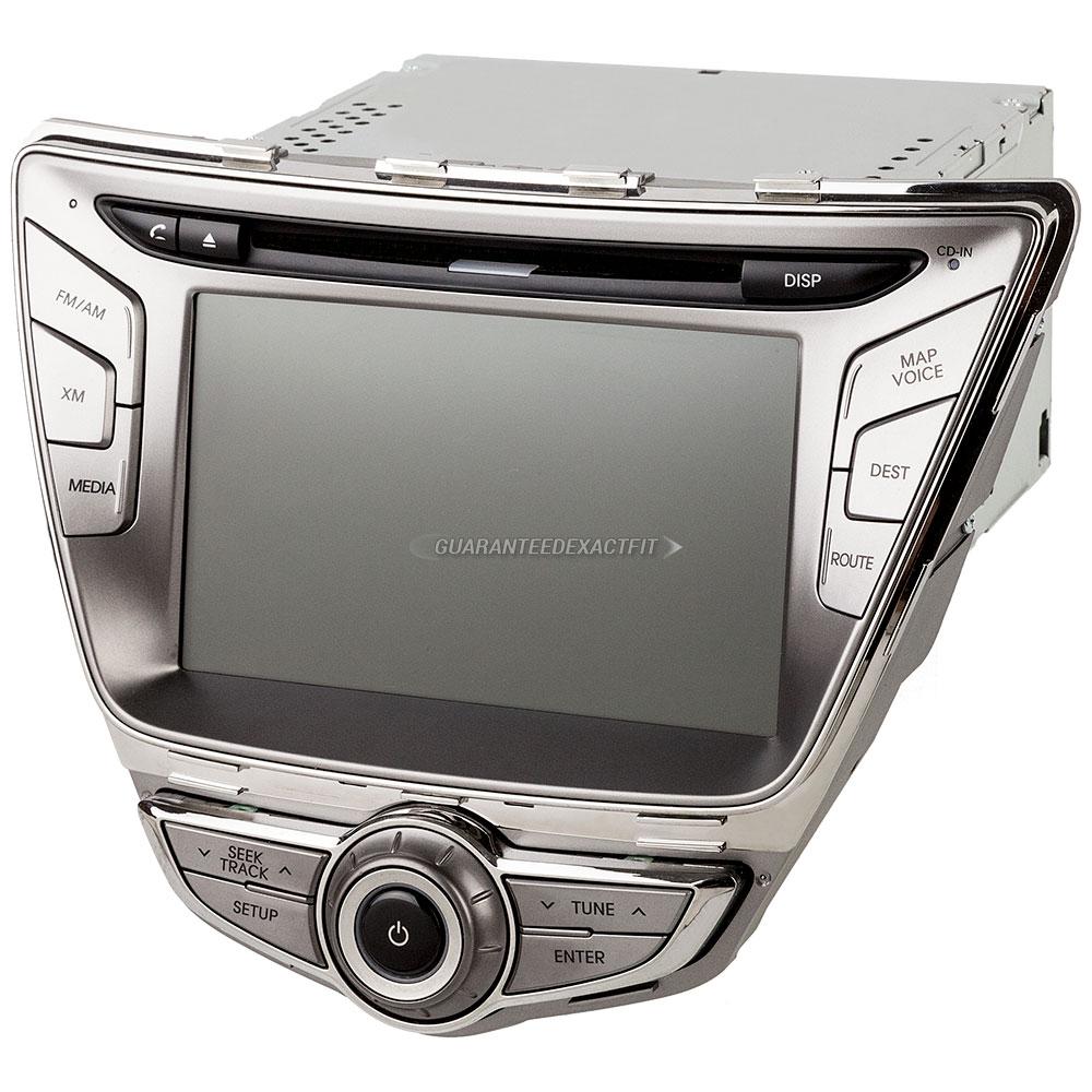 Hyundai Elantra Extended Warranty: 2013 Hyundai Elantra Navigation Unit In-Dash Navigation