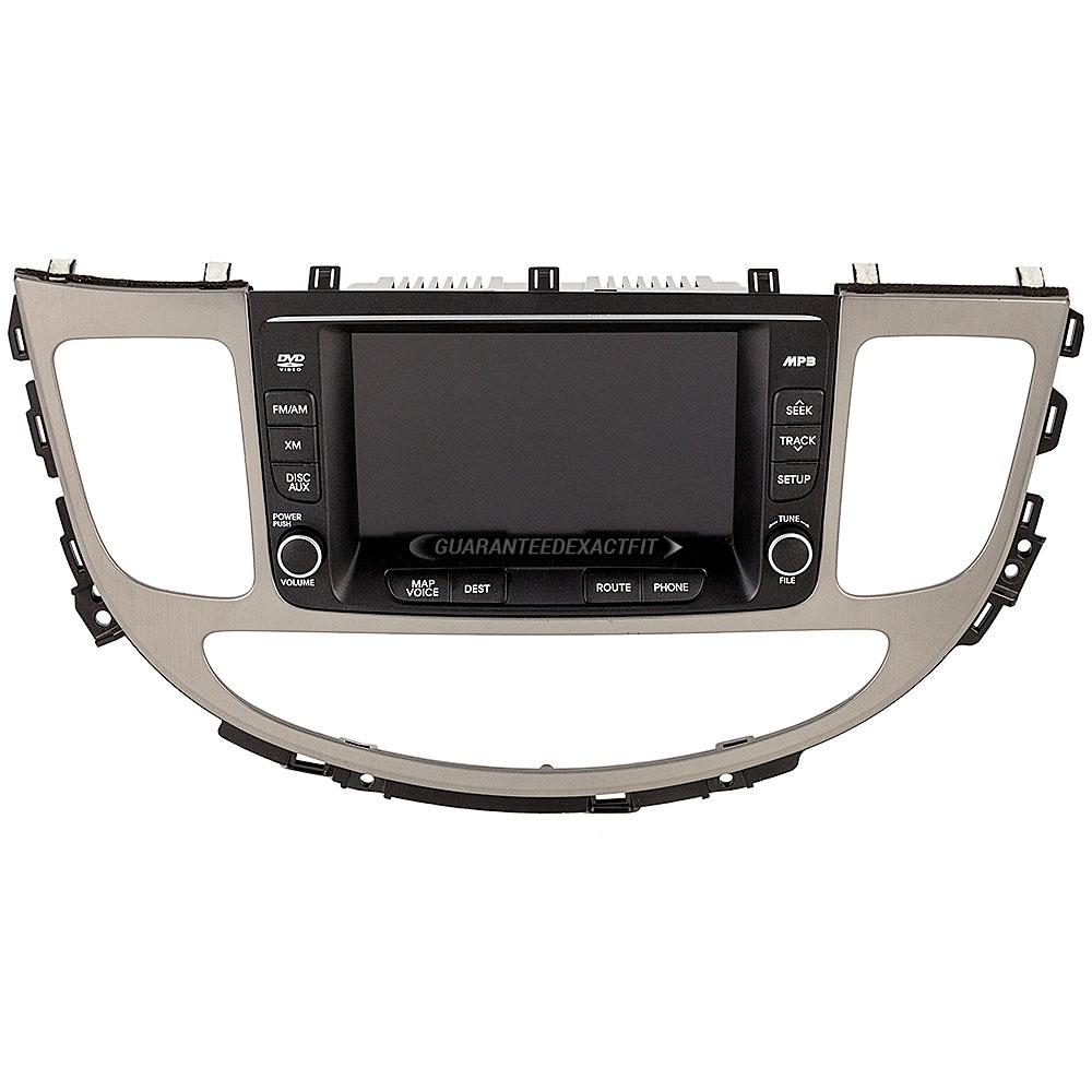 Hyundai Genesis Center Module Screen
