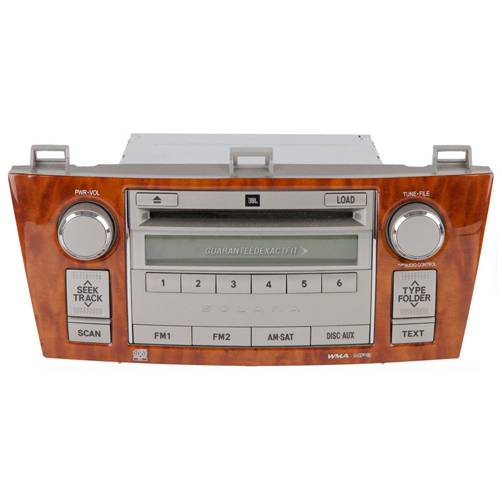 Toyota Solara Radio or CD Player
