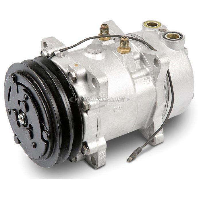 Mazda GLC Remanufactured Compressor w Clutch