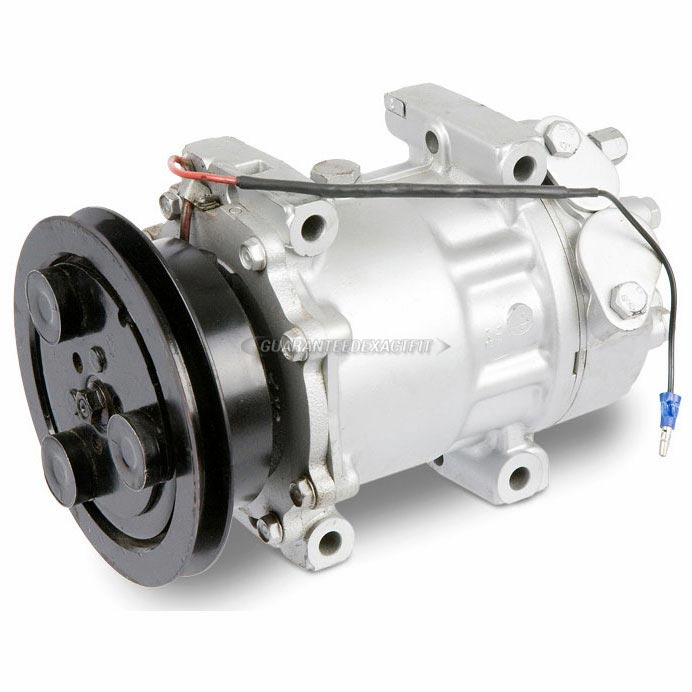 Hyundai Scoupe Remanufactured Compressor w Clutch