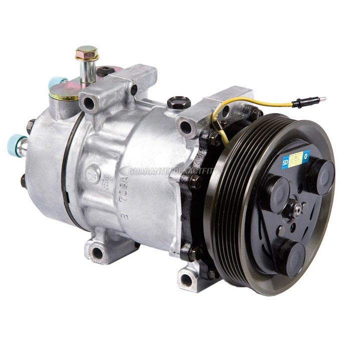 Saab 9000 New OEM Compressor w Clutch