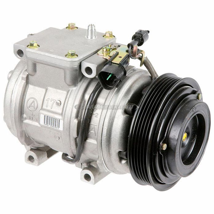 Mitsubishi Expo and Expo LRV New OEM Compressor w Clutch