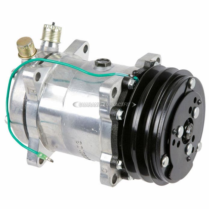 Specialty_and_Performance Sanden New xSTOREx Compressor w Clutch