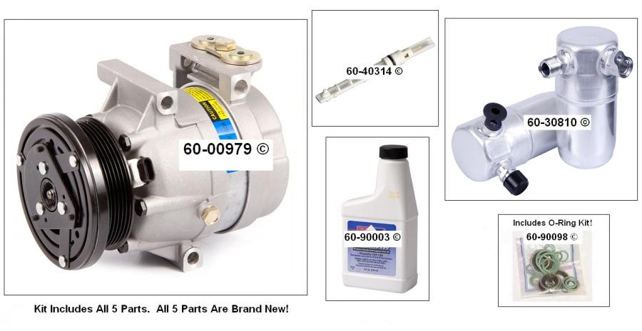 Chevrolet Lumina A/C Compressor and Components Kit