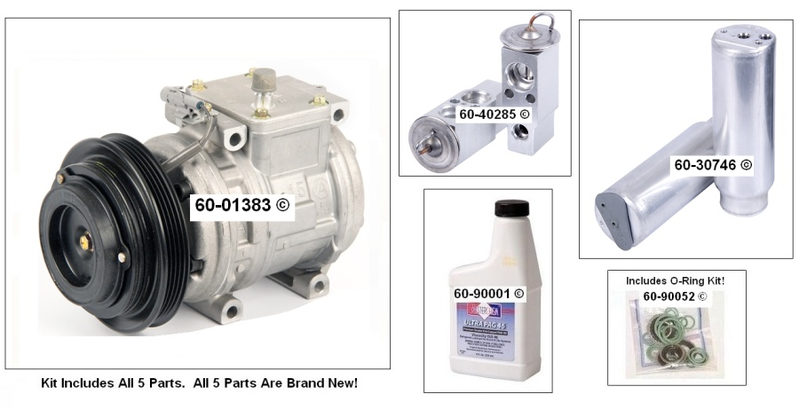 A/C Compressor and Components Kit 60-80116 RK