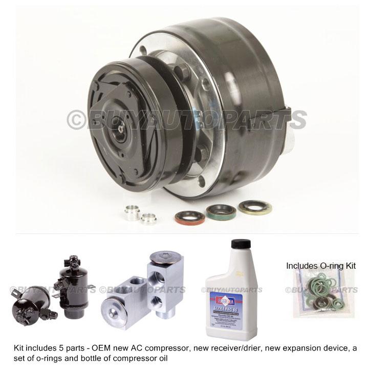 Mercedes_Benz 300CD A/C Compressor and Components Kit