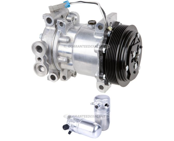 Chevrolet Suburban A/C Compressor and Components Kit