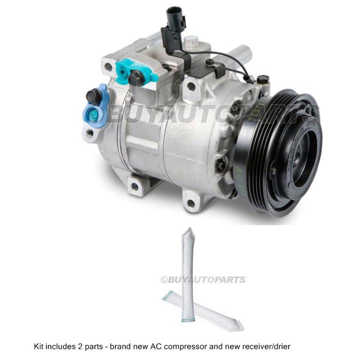 Kia Rio5 A/C Compressor and Components Kit