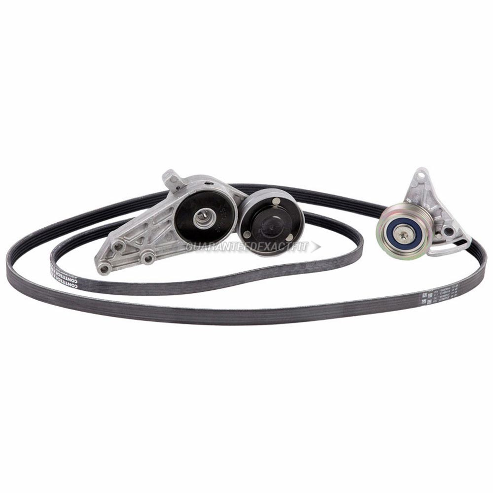 Audi A4 Serpentine Belt and Tensioner Kit