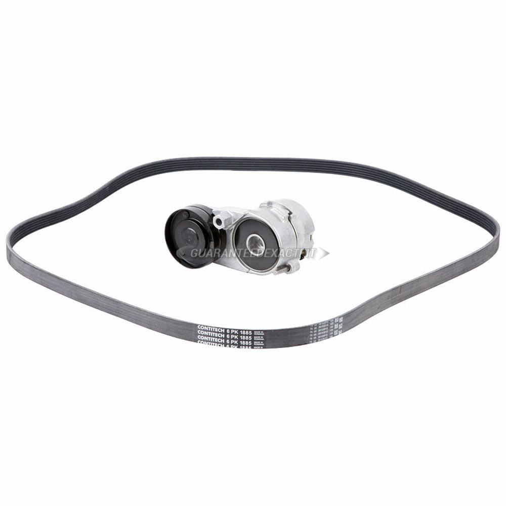 Audi A6 Serpentine Belt and Tensioner Kit