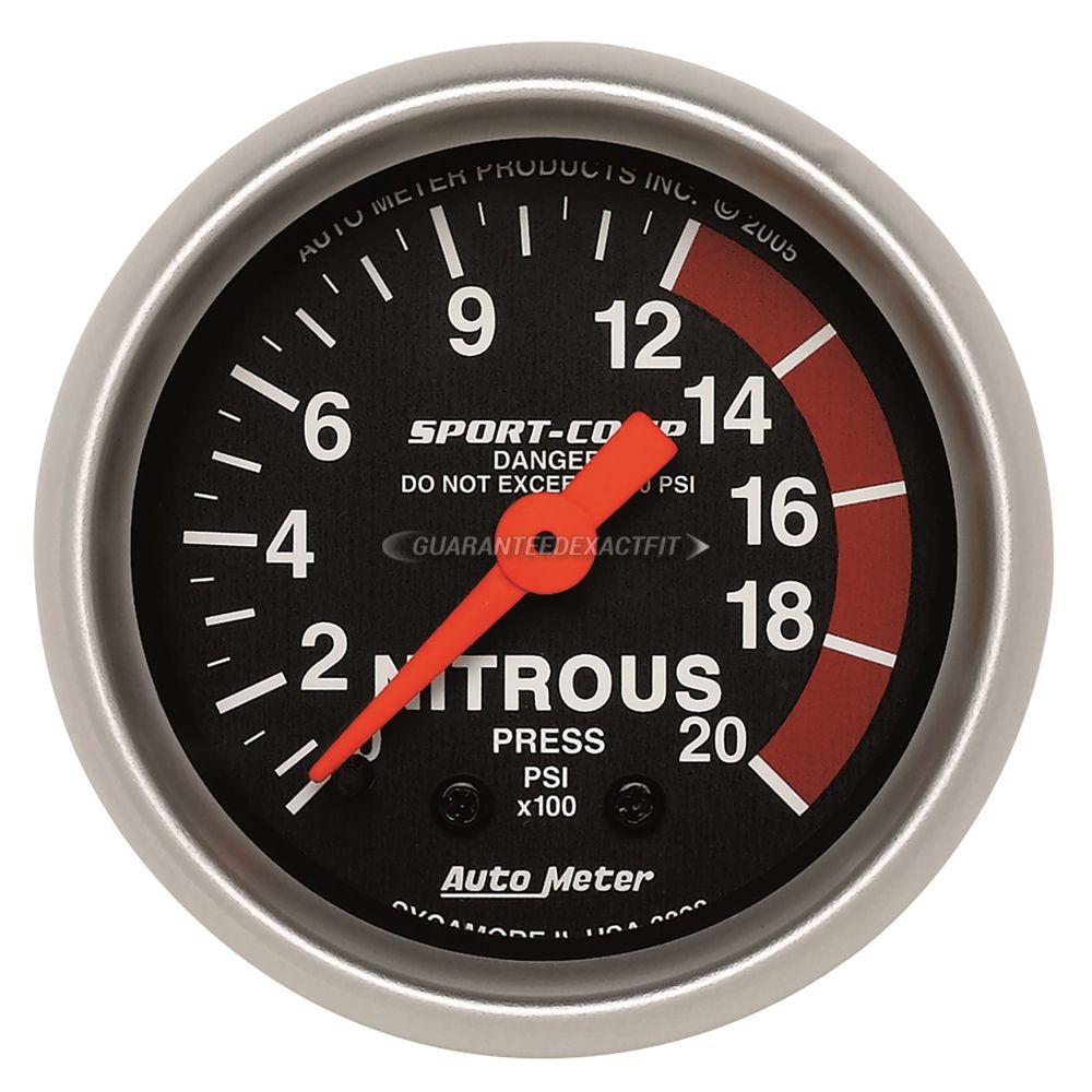 Nitrous Oxide Pressure Gauge