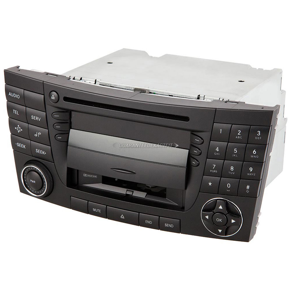 2003 mercedes benz e320 radio or cd player radio head unit