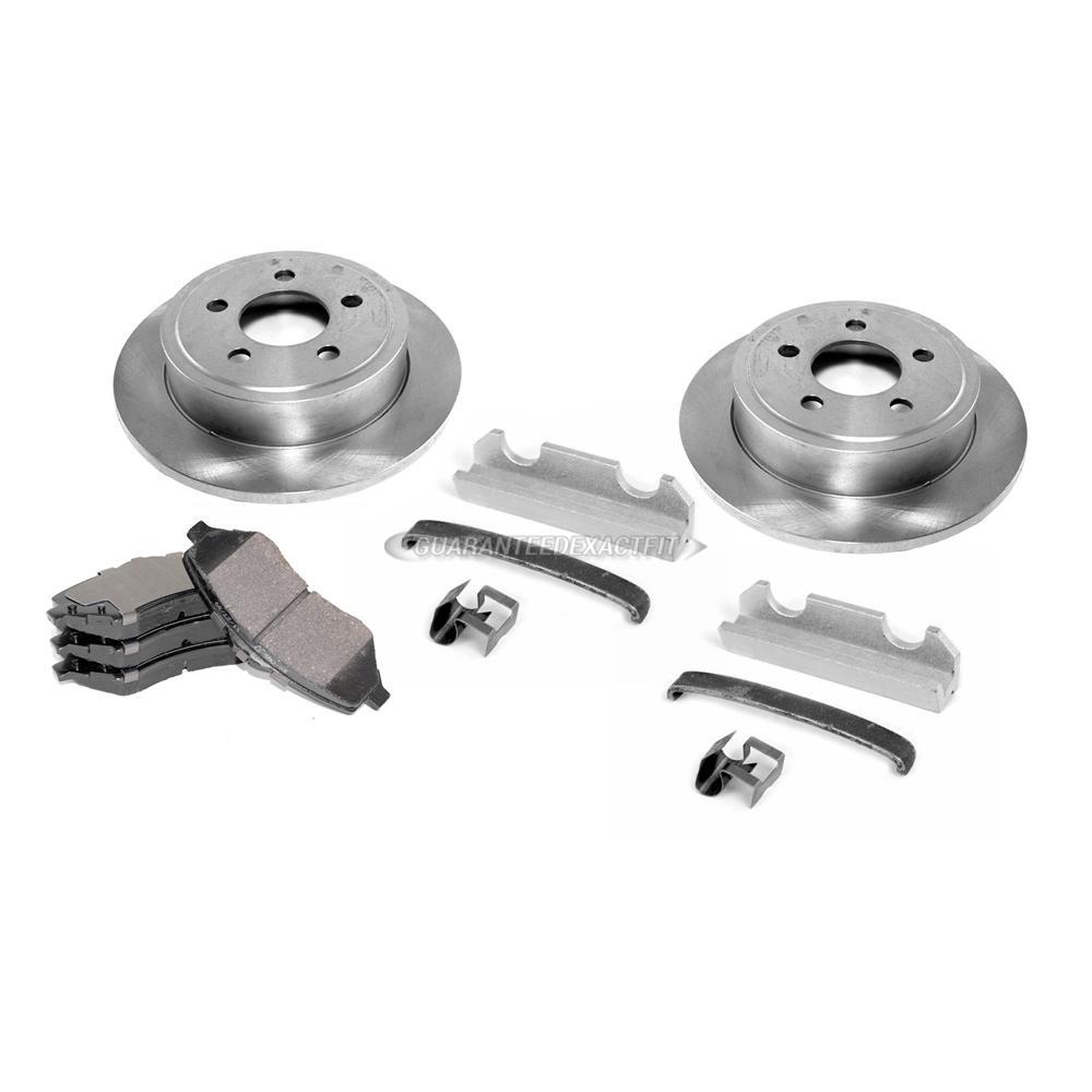 Disc Brake Caliper / Rotor / Pad Kit