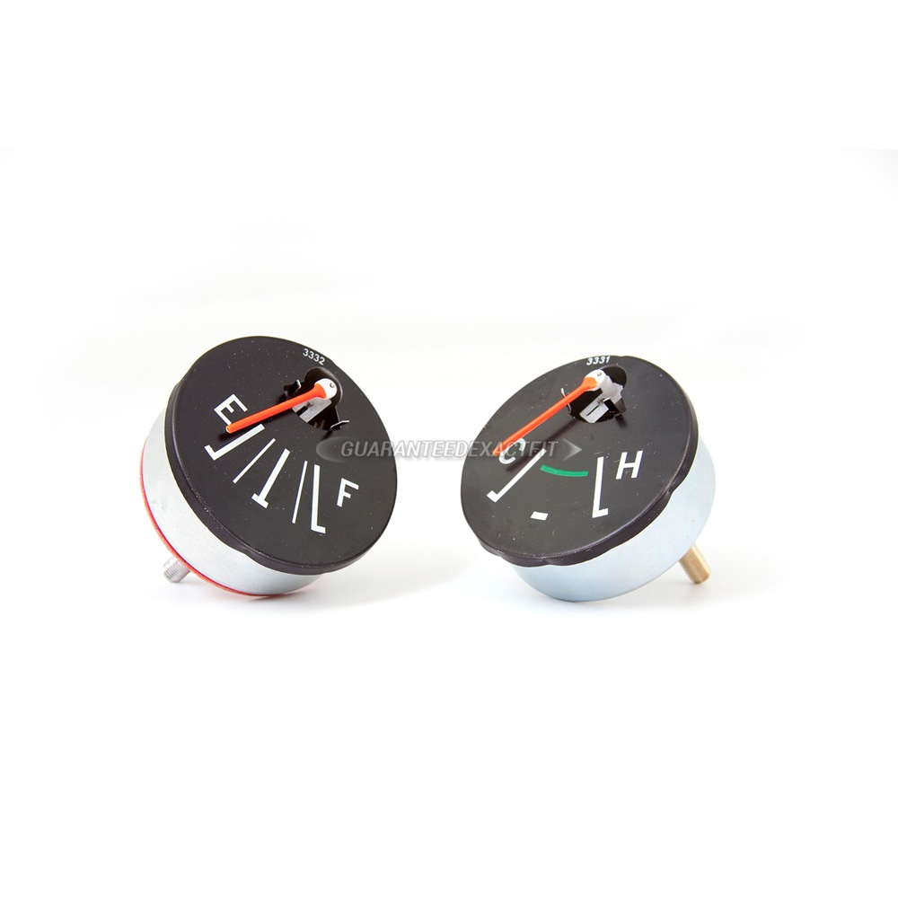 Fuel and Water Temperature Gauge Set