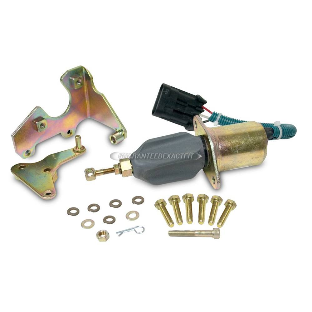 Diesel Fuel Injector Pump Shutdown Solenoid
