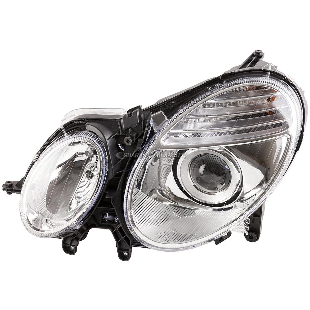 2007 mercedes benz e350 headlight assembly pair headlight for Mercedes benz 2007 e350 parts