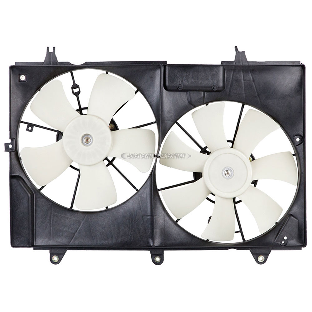 Cadillac CTS Cooling Fan Assembly