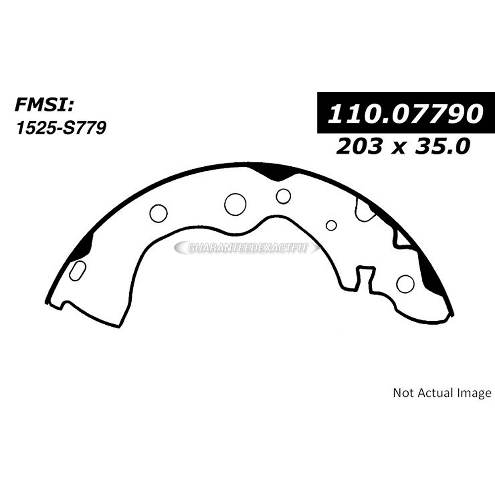 Centric Parts 111.07790 Brake Shoe Set