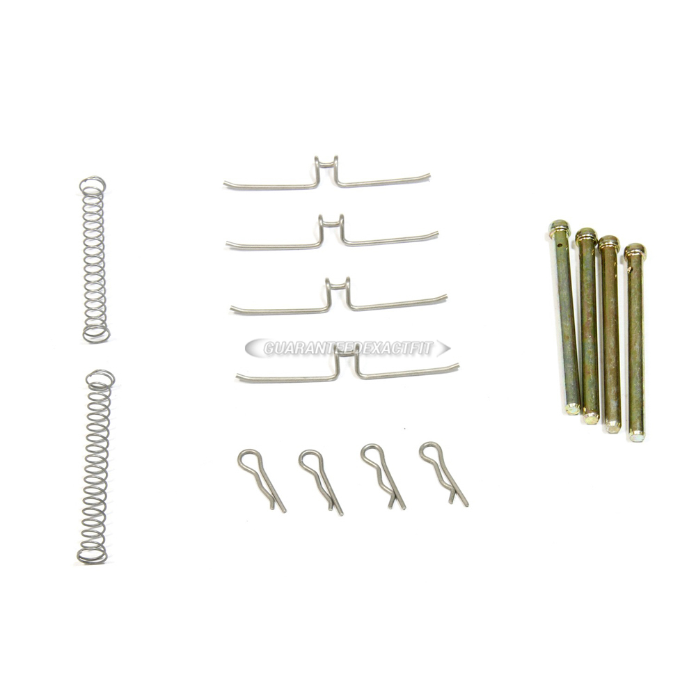 nissan B210 Disc Brake Hardware Kit