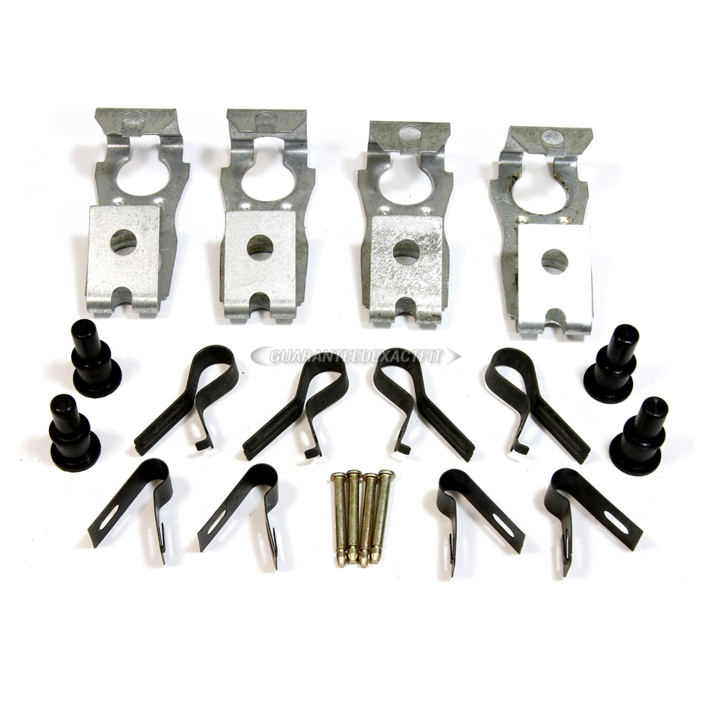 Lincoln Mark III Disc Brake Hardware Kit