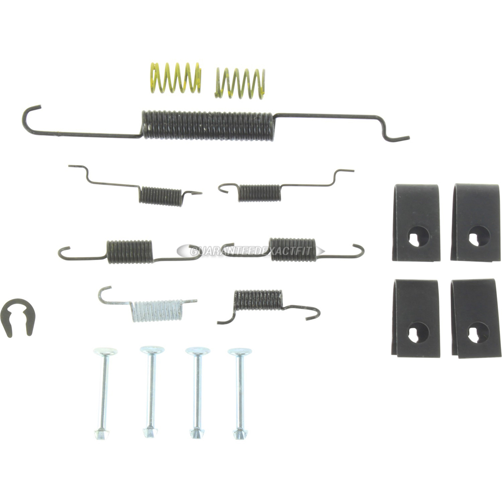 Mazda MX-6 Drum Brake Hardware Kit