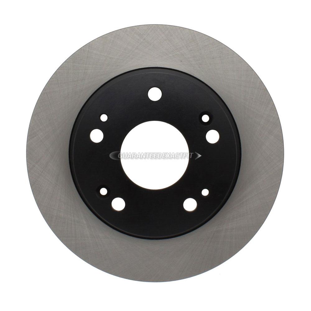 For Honda Accord & Acura TSX Centric Rear Brake Rotor Disc