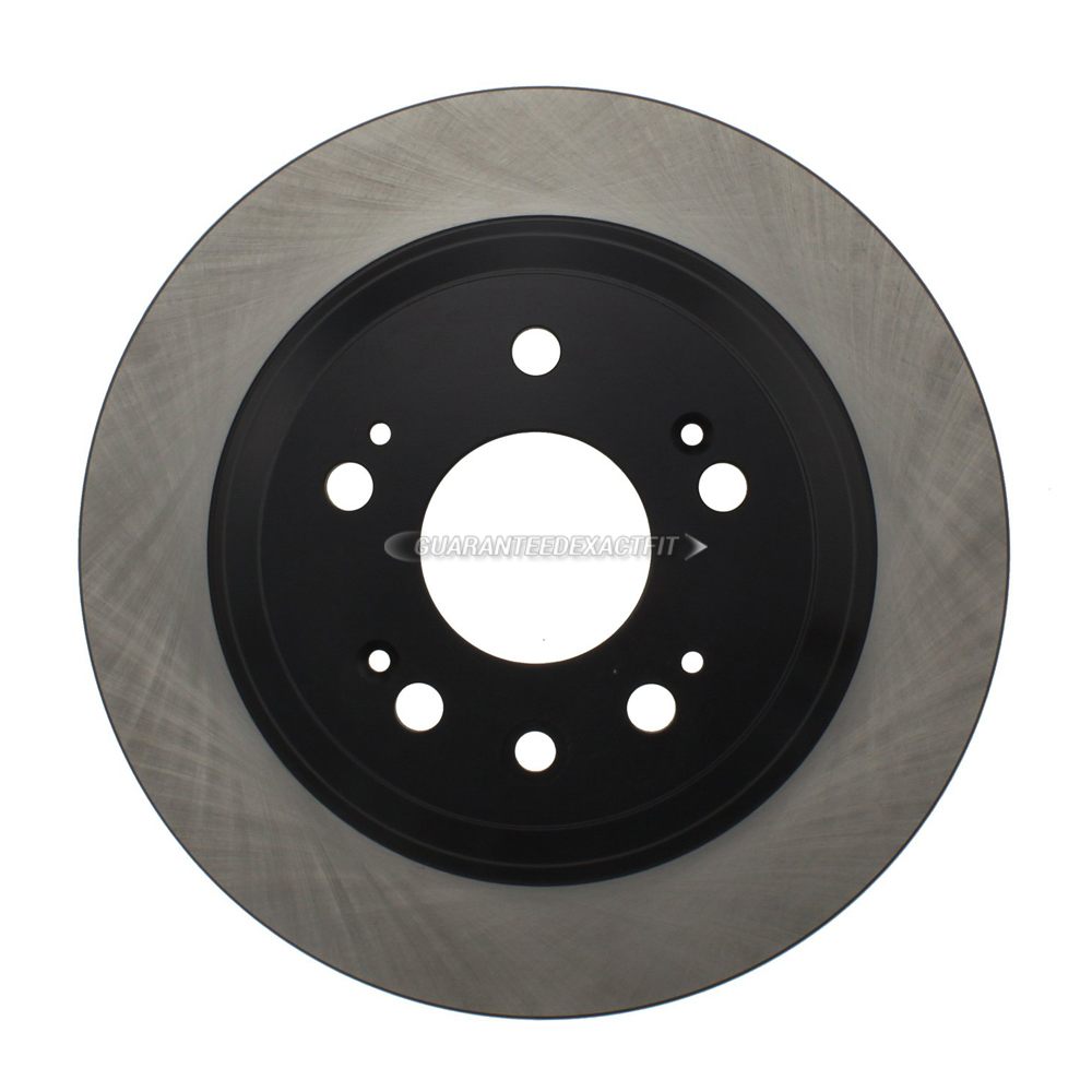 For Acura RL 2005-2012 Centric Rear Brake Rotor Disc DAC