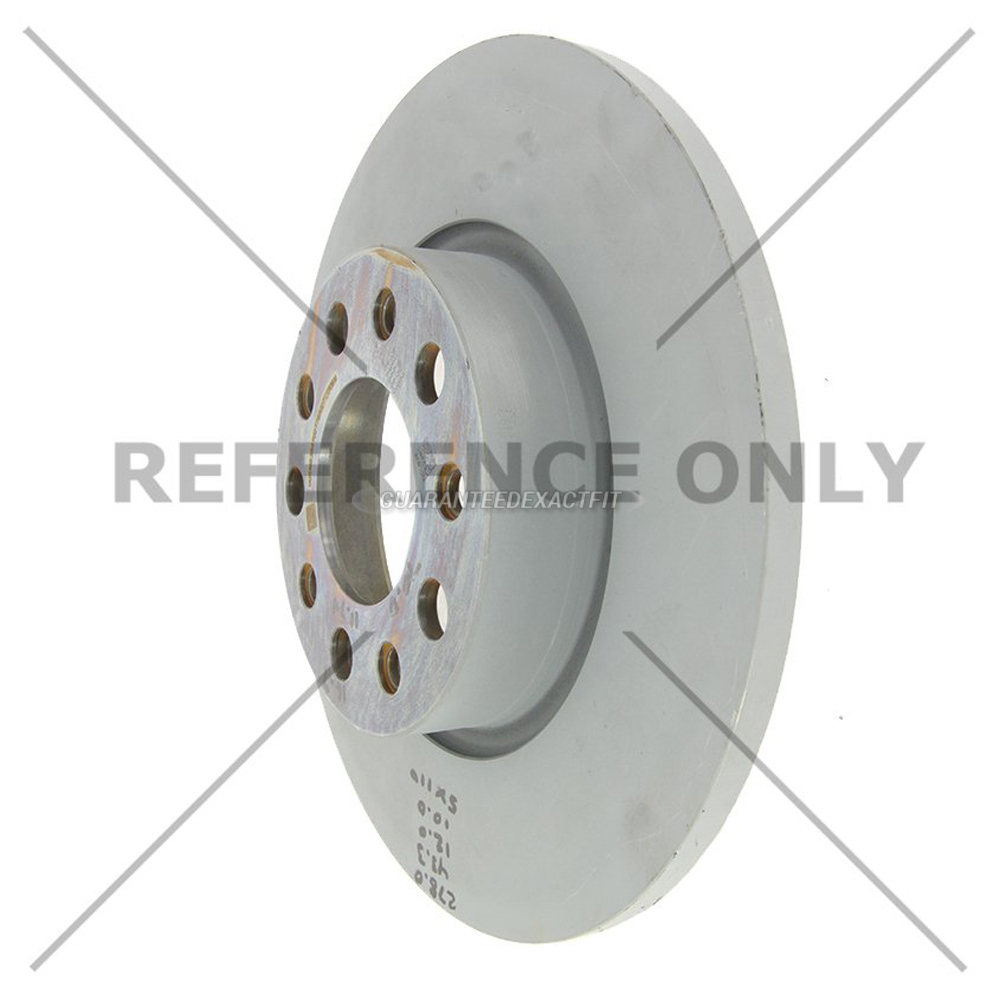 Centric Parts 120.58015 Brake Rotor