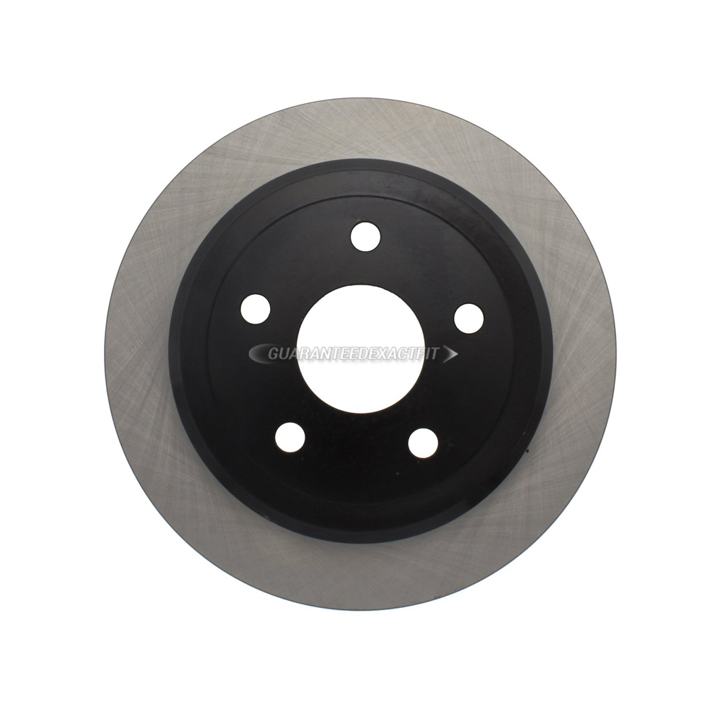 Centric Parts 120.67067 Brake Rotor