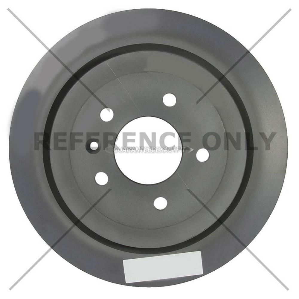 For Cadillac ATS 2013-2019 Centric Rear Brake Rotor Disc