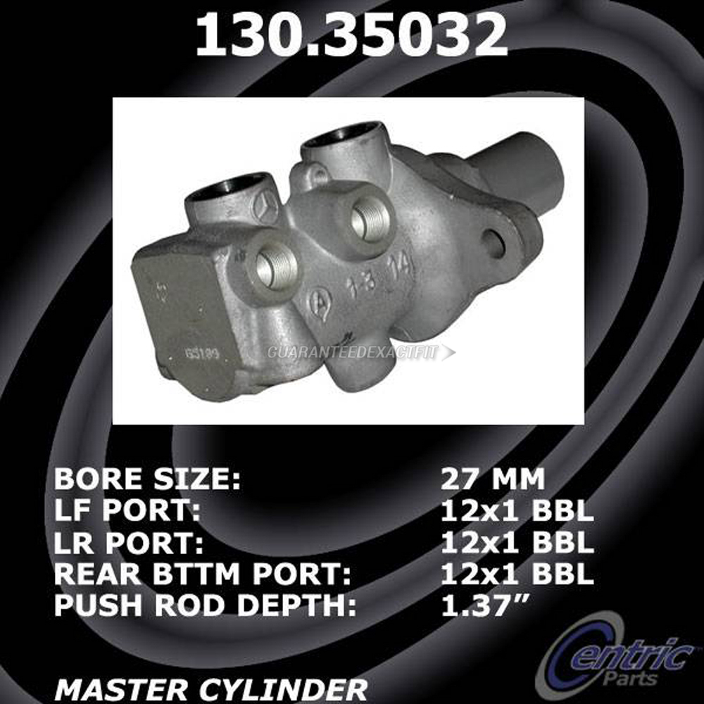 2008 Mercedes Benz ML63 AMG Brake Master Cylinder